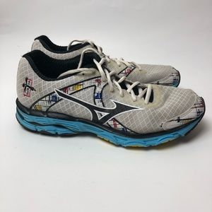 Mizuno Wave Inspire Sneakers Shoes Grey Limited